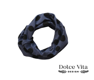 Tricot Scarf, Big Dotts