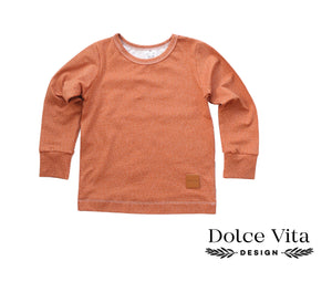 Tricot Shirt, Brown Dropps