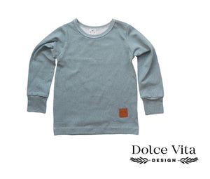 Tricot Shirt, Blue Dropps