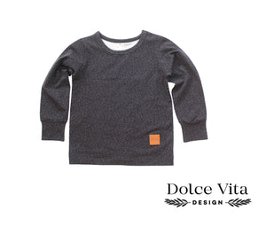 Tricot Shirt, Black Dropps