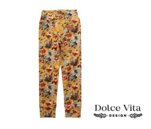 Load image into Gallery viewer, Leggings, Yellow Flowers