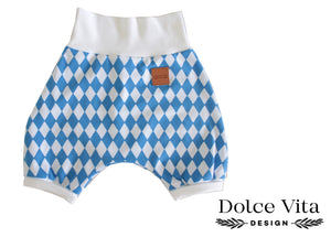 Shorts, Harlequin Blue