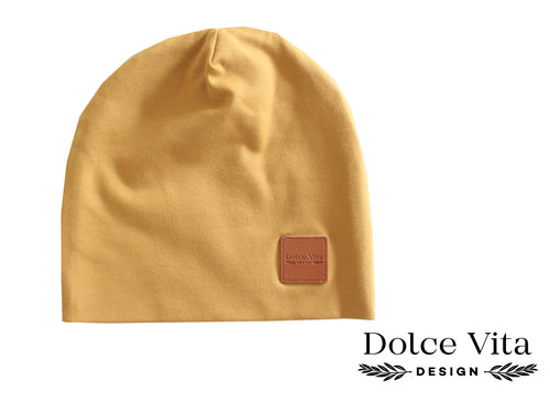 Beanie, India Yellow
