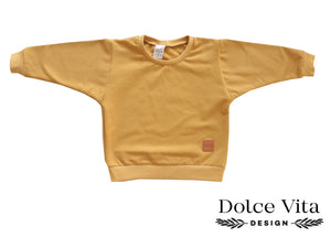 Oversize Sweatshirt, Indian Yellow
