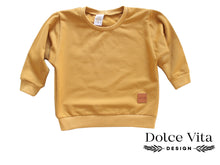 Load image into Gallery viewer, Oversize Sweatshirt, Indian Yellow