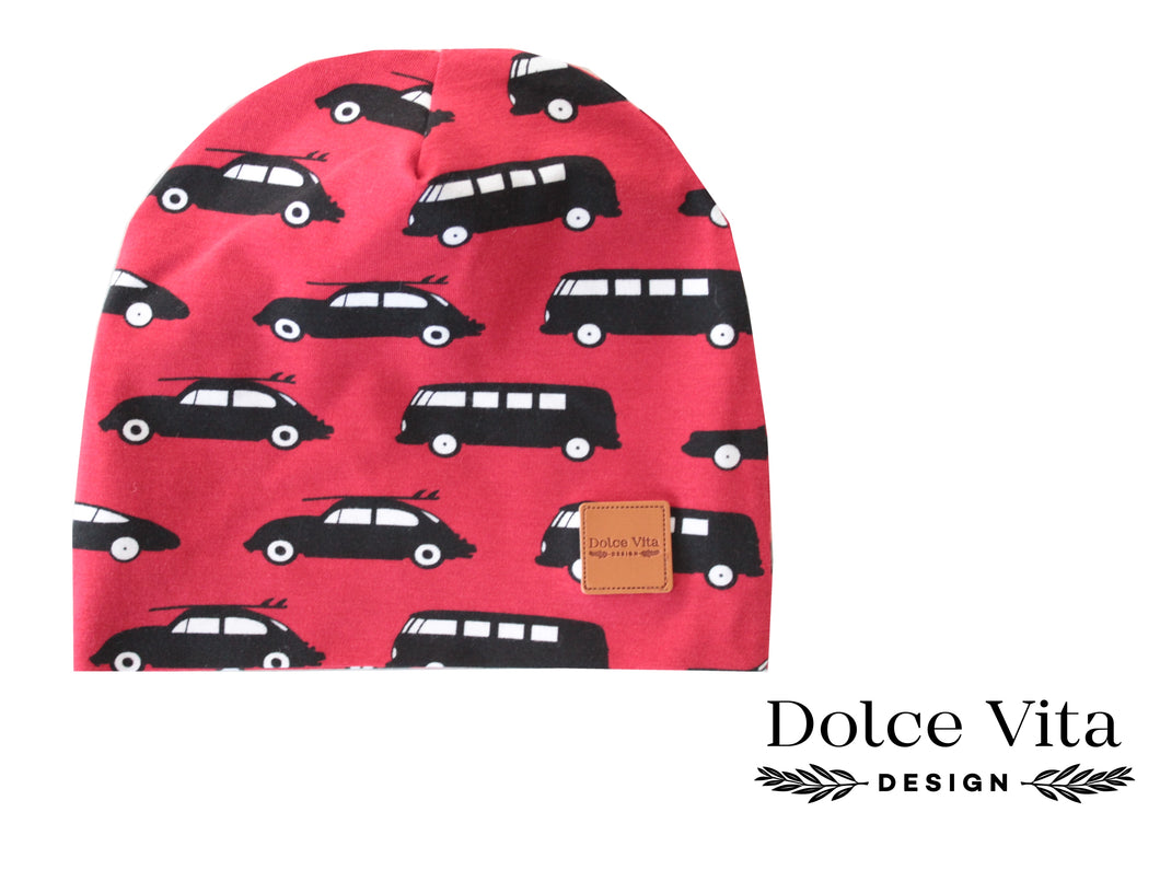 Beanie, Cars Red