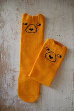 Load image into Gallery viewer, Knee Socks, Yellow Bears