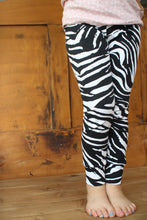 Load image into Gallery viewer, Leggings, Zebra