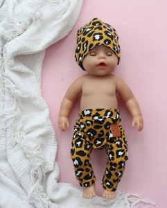 Dolls Leggings Set Leo Yellow