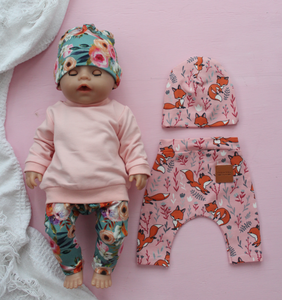 Dolls Clothing Set Pink