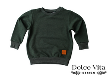 Load image into Gallery viewer, Sweatshirt, Forest Green