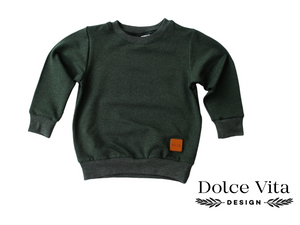 Sweatshirt, Forest Green