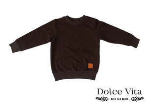 Sweatshirt, Dark Brown