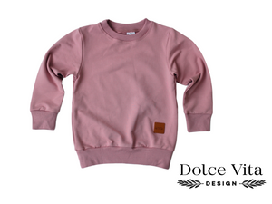 Sweatshirt, Dusty Pink