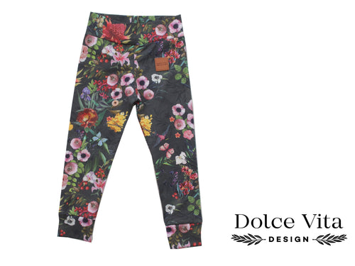 Leggings, Winter Roses