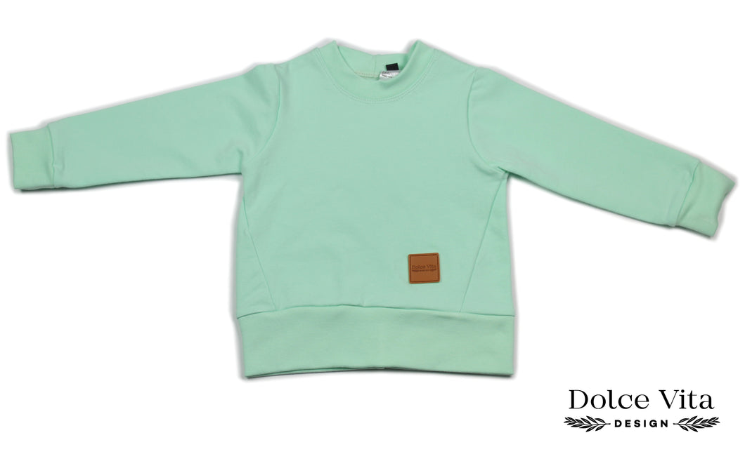 Sweatshirt, Basic Mint