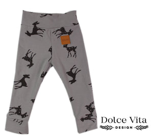 Leggings, Bambi Grey