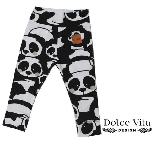 Leggings, Panda Grey