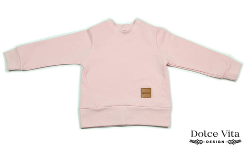 Sweatshirt, Basic Pink