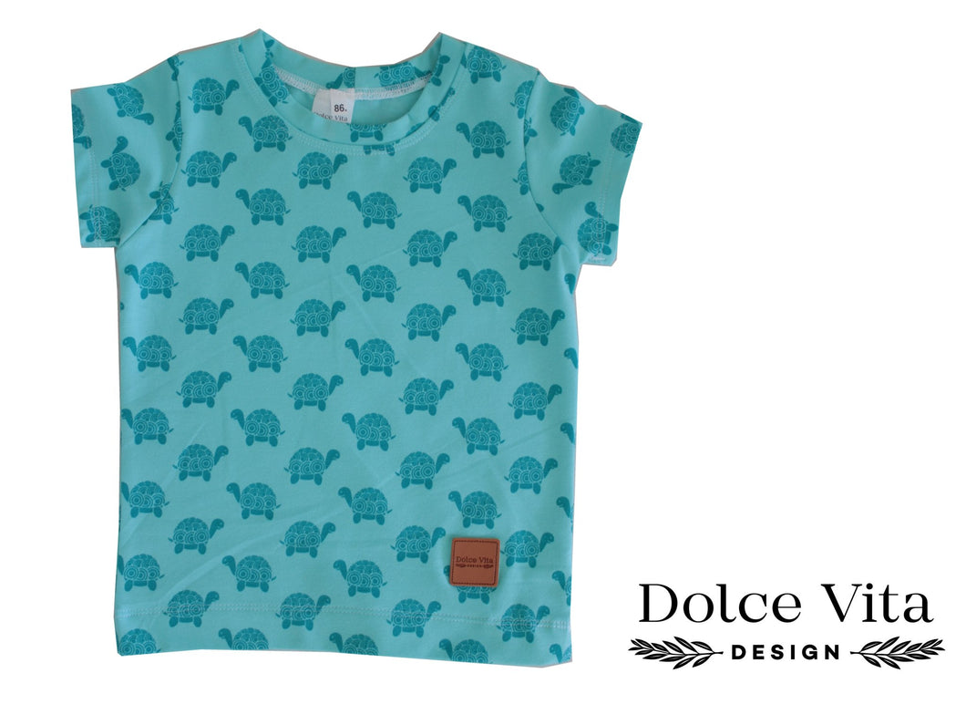 T-shirt, Turtles Turquoise