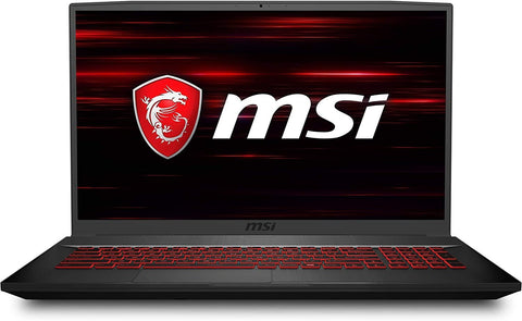 MSI GF75 17.3-in 144Hz Full HD Intel i5-10300H 8GB 512GB SSD 4GB NVIDIA GeForce 1650Ti Graphics Win 10 Thin Gaming Laptop