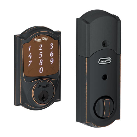 Schlage Sense Smart Deadbolt with Camelot Trim