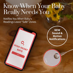 Owlet Duo Smart Baby Monitor with HD Video, Oxygen, and Heart Rate - 3rd Generation