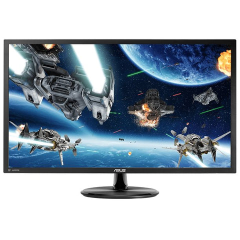 "ASUS 28"" 4K 3840x2160 60hz 1ms DP HDMI AMD FREESYNC UHD LED Gaming Monitor - VP28UQG"