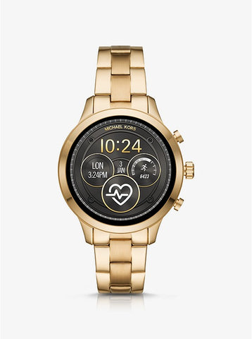 MICHAEL KORS ACCESS - Heart Rate Gold-Tone Smartwatch - MKT5046