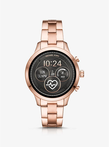MICHAEL KORS ACCESS - Heart Rate Rose Gold-Tone Smartwatch - MKT5046