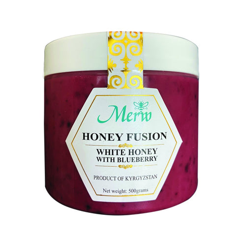 Honey Fusion (White Honey Infused with Fruits), 500 grams