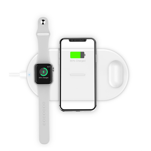 Type C 3-in-1 Wireless Charging Pad (S8)
