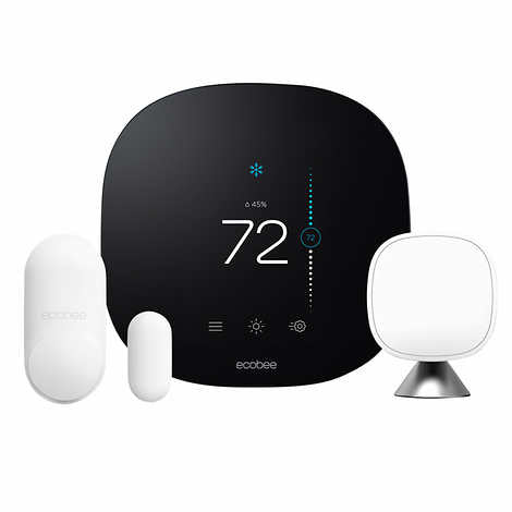 Ecobee 3 lite Smart Thermostat with whole home sensors
