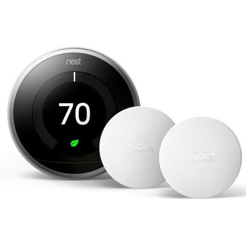 Nest Learning Thermostat 3rd Gen + 2 sensors