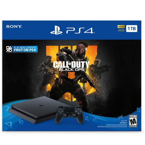 PlayStation 4 Slim 1TB Console - Call of Duty: Black Ops 4 Bundle