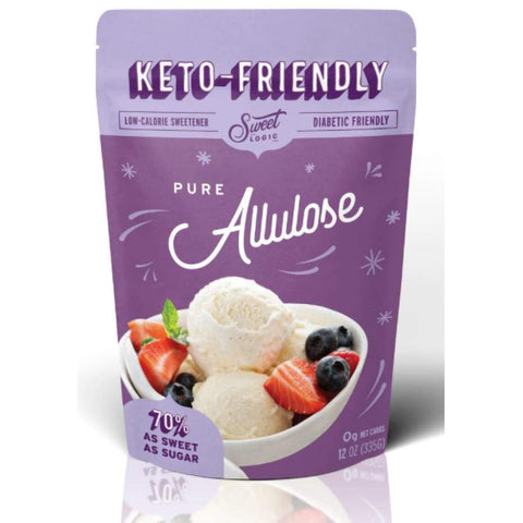 Sweet Logic Keto-Friendly Sweeteners - Pure Allulose