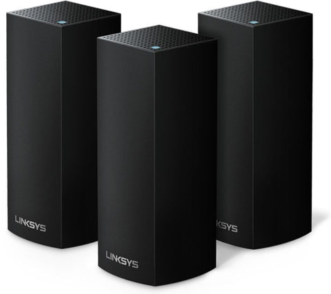 Linksys AC6600 Whole-Home Mesh Wi-Fi System - 3 Pack Black/White