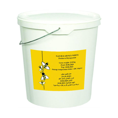 Organic White Honey, 23.8 KG (Wholesale)