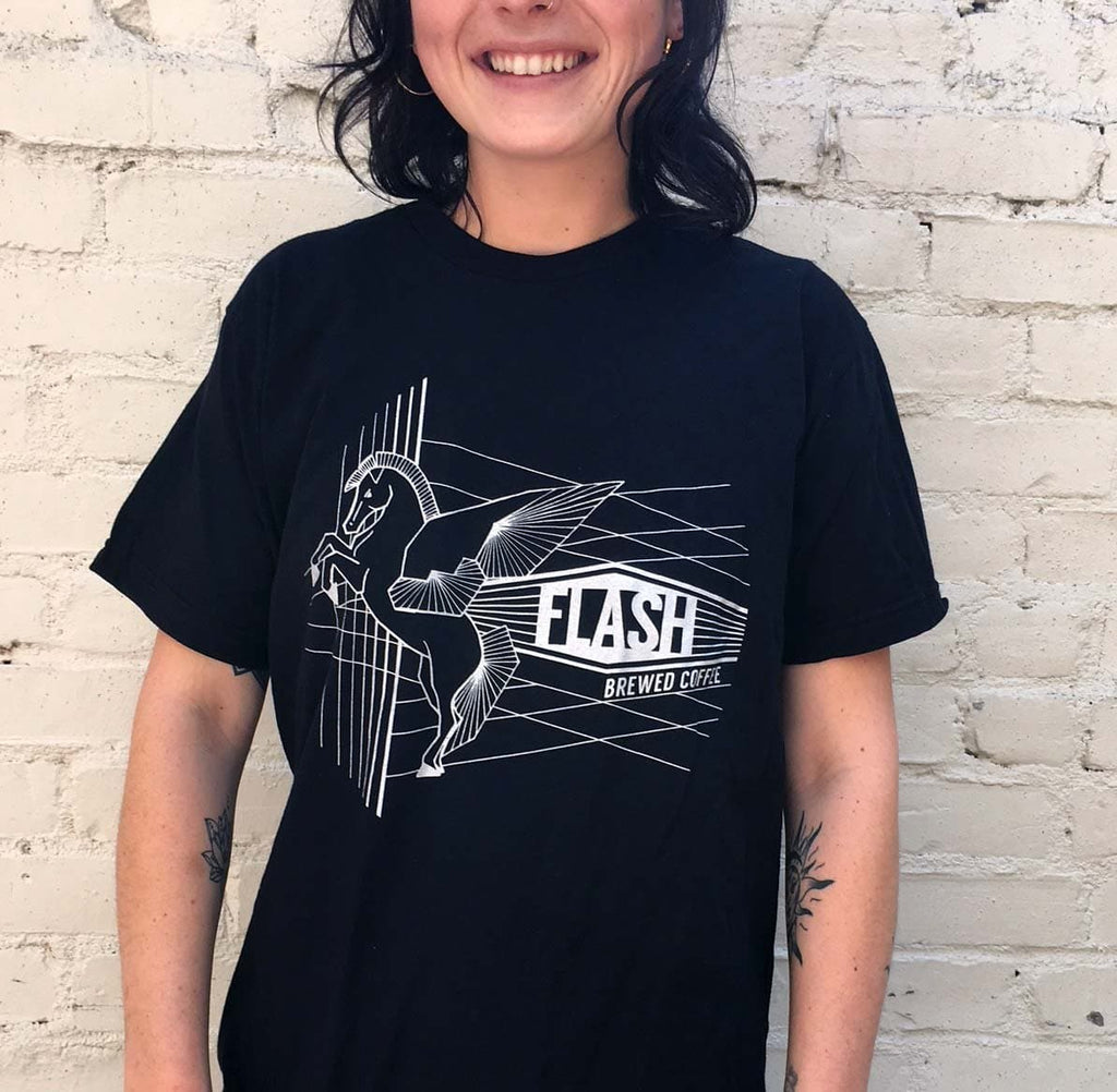 Flash T-shirt - Highwire Coffee Roasters