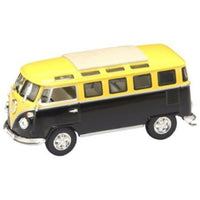 Volkswagen Bus 1962 yellow/black (43209)