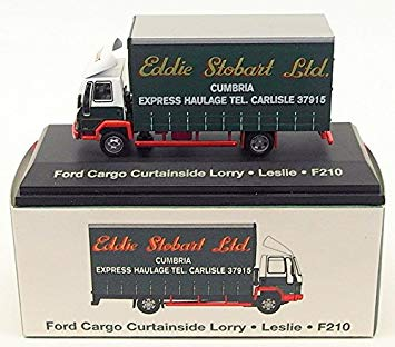 "Ford Cargo Curtainside Lorry Eddie Stobart ""Leslie"" (JV9116)"