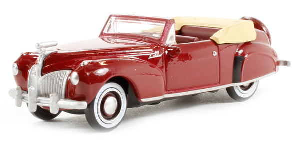 Lincoln Continental 1941 Maroon (87LC41001)