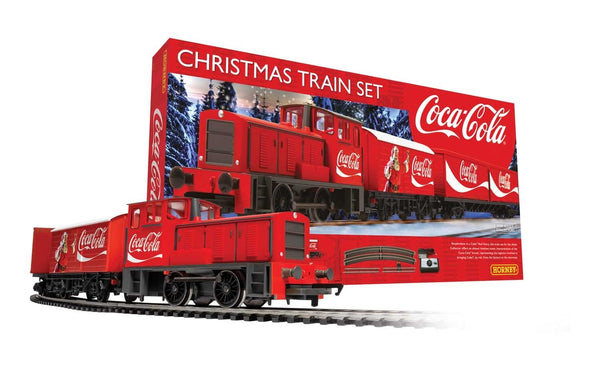 The Coca Cola Christmas Train Set (R1233)