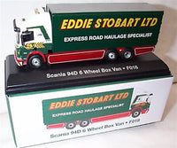 Scania 94D 6 Wheel Box Van Eddie Stobart (JV9128)