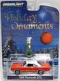 Plymouth GTX 1968 Holiday Ornaments (37120-C)