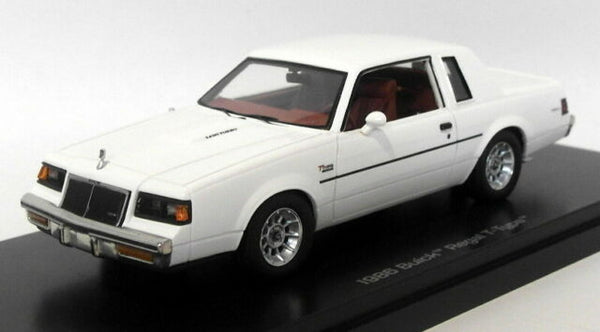 Buick Regal T-Type 1986 White (AWR1137/06)