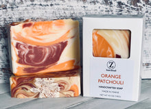 Load image into Gallery viewer, Orange Patchouli Handcrafted Soap