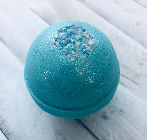 Blue Denim Bath Bomb
