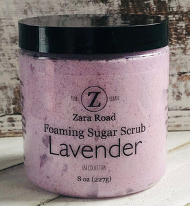 Lavender Foaming Sugar Scrub