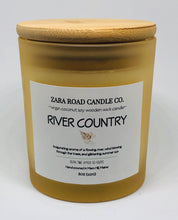 Load image into Gallery viewer, River Country Spiral Wooden Wick Coconut Wax Candle